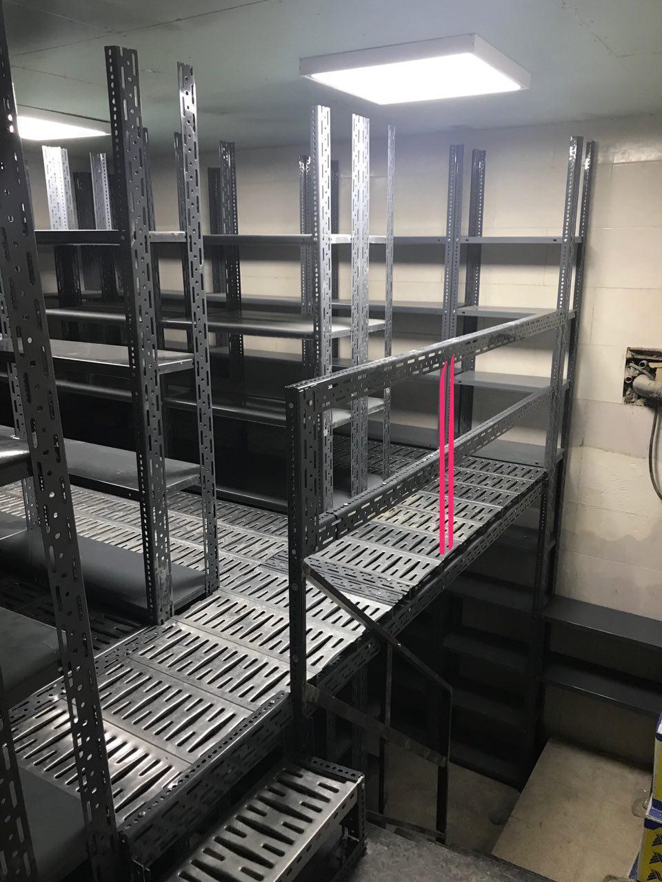 قفسه زیر زمین اداری